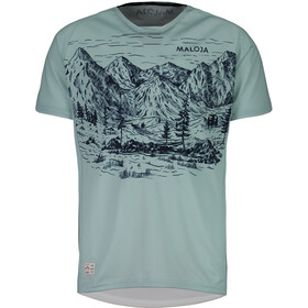 Maloja SerlasM. Shortsleeve Multisport Jersey Men cliff